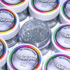 Rainbow Dust dekorativer Glitzer - Jewel - silber -5g-