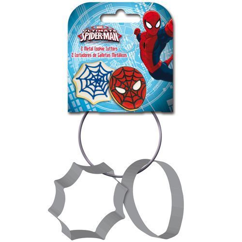 Spidermann Metall Ausstecher - Set