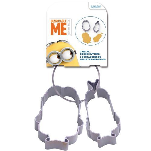 Metall Ausstecher Set Minions